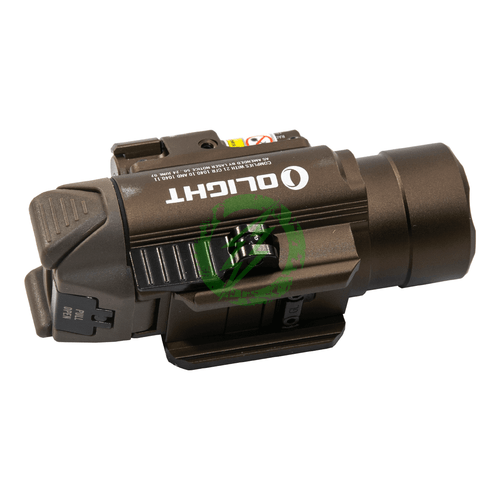 OLIGHT BALDR PRO Flash Light with Green Laser   1350 Lumens side