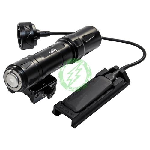 OLIGHT ODIN Tactical Flash Light   2000 Lumen   Black button