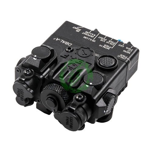 GK Tactical DBAL-2 PEQ Laser Device | Green Laser black