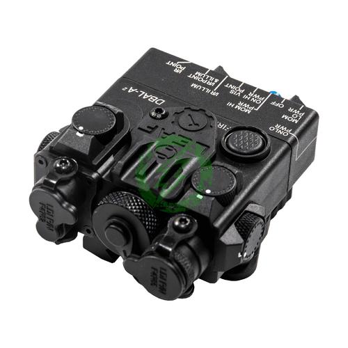 GK Tactical DBAL-2 PEQ Laser Device | Green Laser black