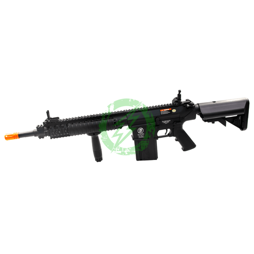 A&K Full Metal SR-25 Airsoft AEG Rifle | Zombie Killer Edition left