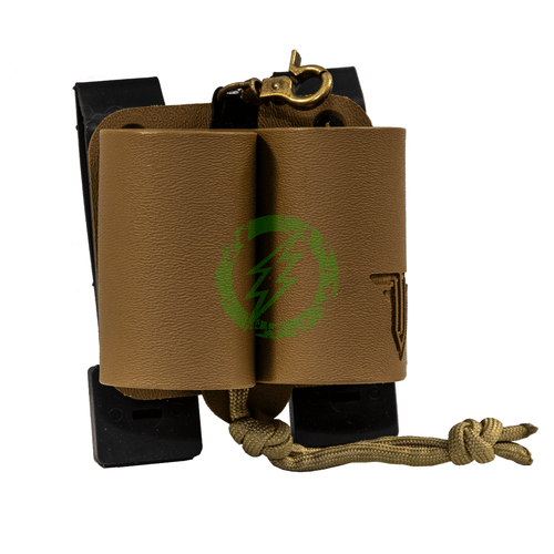 Tactical Airsoft Combat Simulations Fast Frag 40 Double tan