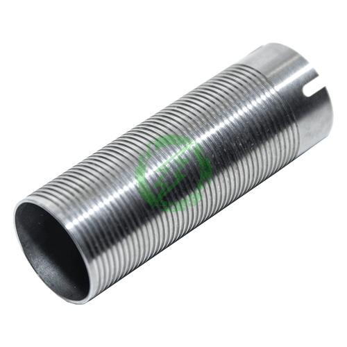 Rocket Airsoft Aluminum Cylinder with Ribbing for Mid Length Barrel AEG |5/6 Port Back
