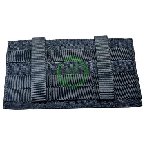 Lancer Tactical Low Profile Triple M4 Pouch | Black Back
