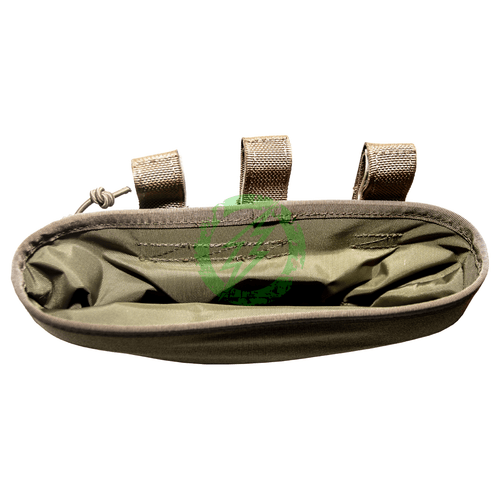 Flyye Industries Molle Roll-Up Drop Dump Pouch | Black, Coyote Brown