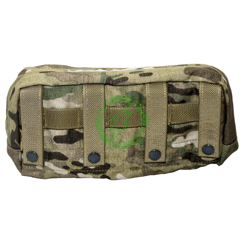 Flyye Industries Horizontal Modular Molle SpecOps Thin Utility Pouch back