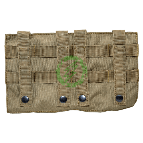 Lancer Tactical Molle 2-IN-1 Triple M4/Pistol Mag Pouch | Tan