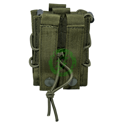 Lancer Tactical Molle Magazine Pouch for M4 | Olive Drab