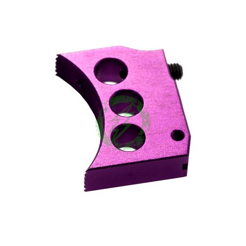 Airsoft Masterpiece Aluminum Trigger Type 4 purple