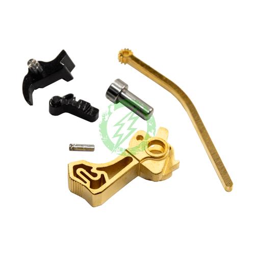 Airsoft Masterpiece Steel Hammer & Sear Set | Infinity SV gold