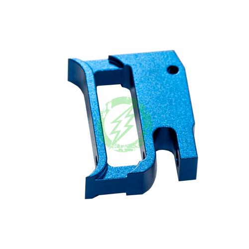 """Airsoft Masterpiece EDGE Aluminum """"T1"""" Trigger for Hi-CAPA blue"""