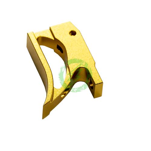 """Airsoft Masterpiece EDGE Aluminum """"T2"""" Trigger for Hi-CAPA gold"""