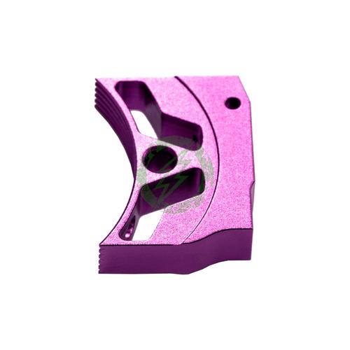 """Airsoft Masterpiece EDGE Aluminum """"T3"""" Trigger for Hi-CAPA purple"""