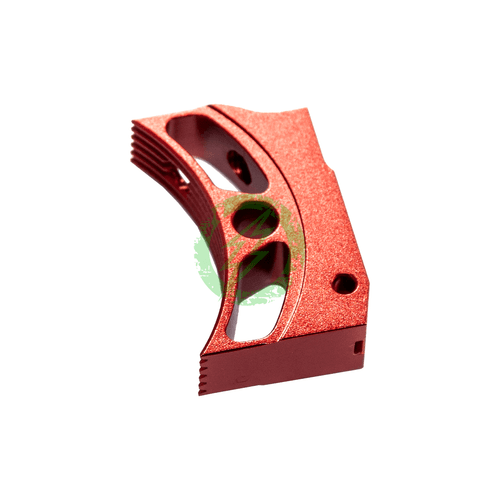 """Airsoft Masterpiece EDGE Aluminum """"T4"""" Trigger for Hi-CAPA red"""