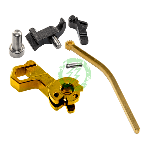 Airsoft Masterpiece Stainless Steel Hammer | Hi-CAPA S Syle Hex  gold