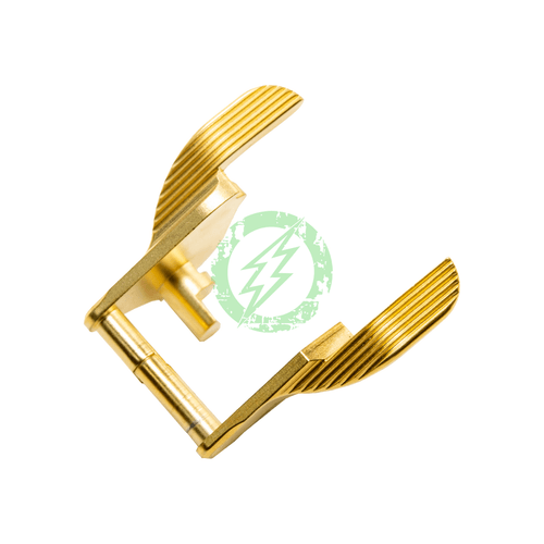 Airsoft Masterpiece Steel Thumb Safety | Type 2 S Style gold