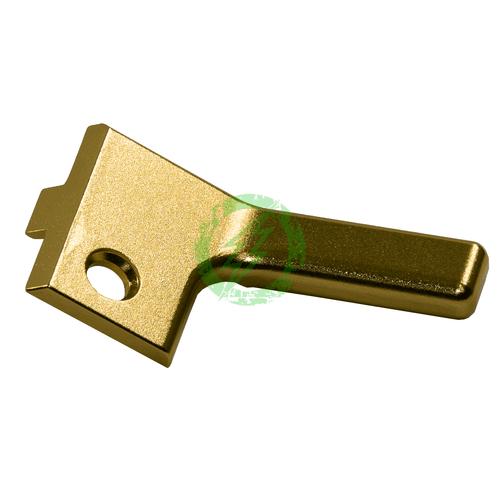 COWCOW Technology RAW Cocking Handle Standard ER | TM Hi-Capa gold