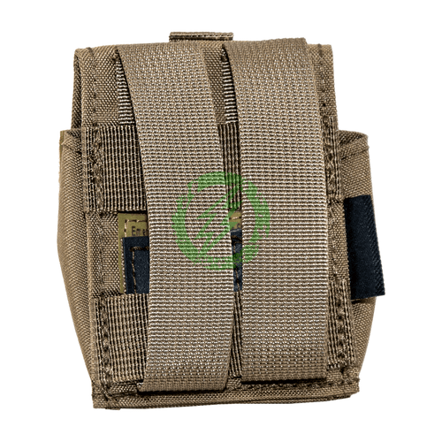 Emerson Gear Single Frag Grenade Pouch | Coyote Brown Back