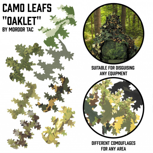 Russian Oaklet Camo Leafs | Multiple Camos details
