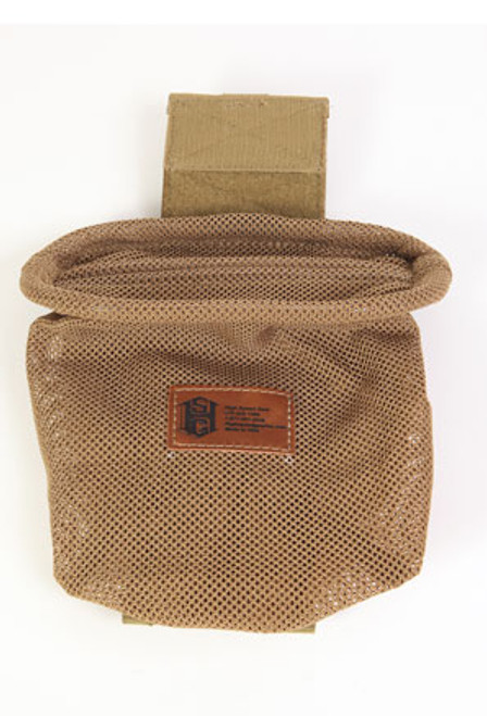 High Speed Gear - Mag-Net Dump Pouch (Coyote Brown) Opened