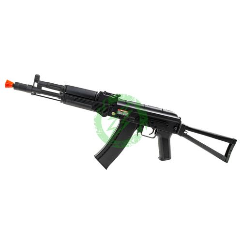 CYMA CM040B AK105 Stamped Metal Rifle Steel Folding Stock left