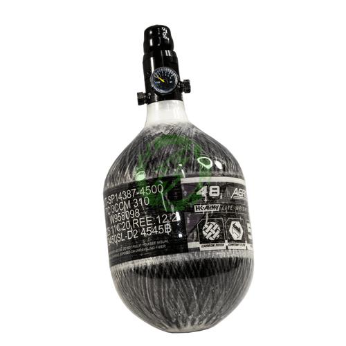 HK Army 48/4500 AEROLITE Carbon Fiber Tank Regulator Adjusted to Low Output | SLP clear