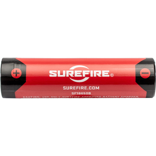 SureFire SF 18650B Battery | USB Rechargable front