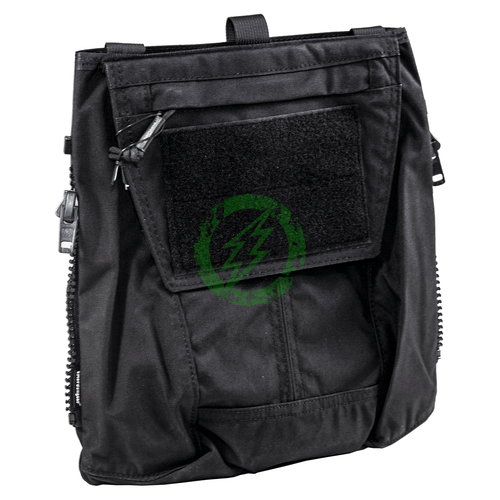 Emerson Gear Pouch Zip-ON Panel Back Pack | AVS / JPC 2.0 / CPC Black