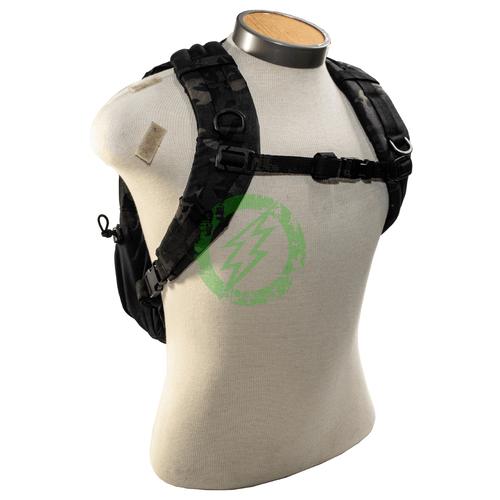 LBX Tactical 12L Day Pack | Multicam Black Front