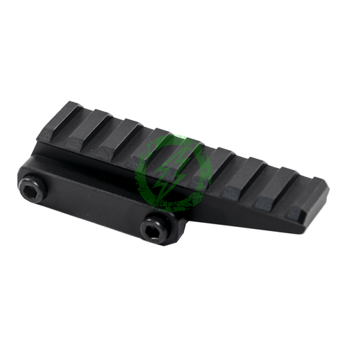 PTS Unity Tactical Fast Micro Riser | Black Back