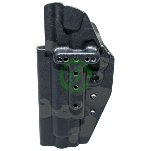 MC Kydex Elite Series Holster Belt Mount | Multicam Black Back