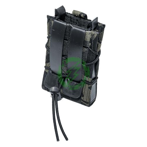 High Speed Gear Multicam Black TACO Modular Single Magazine Pouch Back