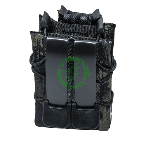 High Speed Gear Multicam Black Double Decker TACO Modular Pouch Back