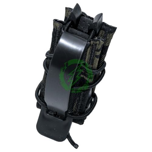 High Speed Gear Multicam Black TACO Single Pistol Mag Pouch Back
