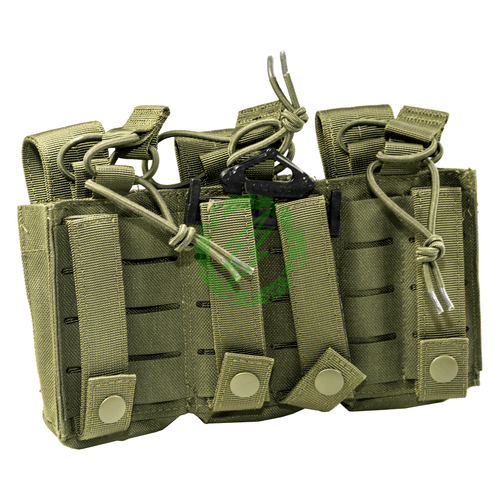 Condor Olive Drab Triple Kangaroo Pouch GEN II  Back