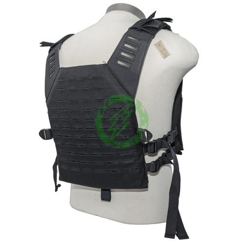 Valken Black Plate Carrier LC | Tactical Gear Back