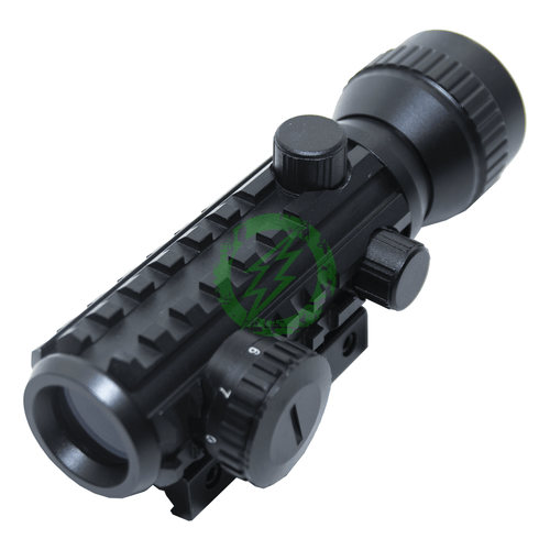 SOUSA Electronic Red Dot Sight with Picatinny Rails | 2 MOA Dot Back