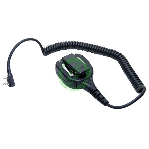 Code Red Headsets HotShot-K Shoulder Microphone Back