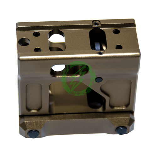 PTS Unity Tactical Fast Micro Mount Dark Earth Back