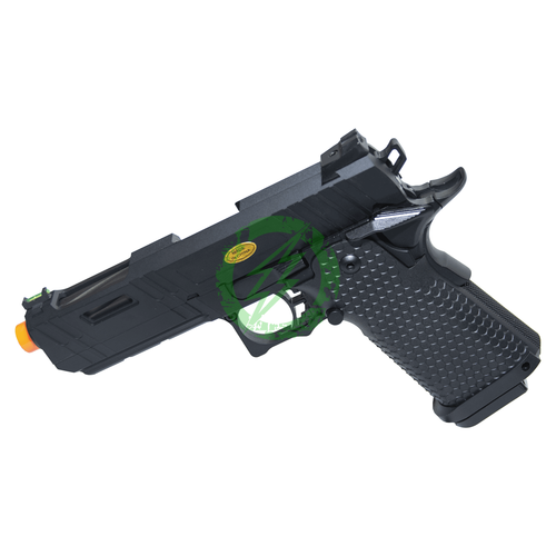 JAG Arms Black 4.3 GMX-3 Series Gas Blow Back Pistol Left