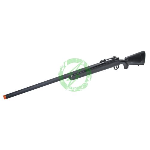 EMG Barrett Fieldcraft Airsoft Precision Bolt-Action Sniper Rifle | Featherweight Zero Trigger Black