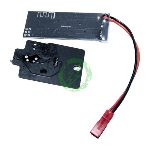 Gorilla Airsoft FCU with Bluetooth + Wolverine MTW Triggerboard  Back