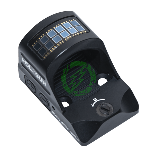 HOLOSUN HE407C X2 Green Dot Sight | 2 MOA Back