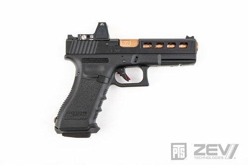PTS ZEV Dragonfly Slide Kit with RMR Cut for TM G17 2