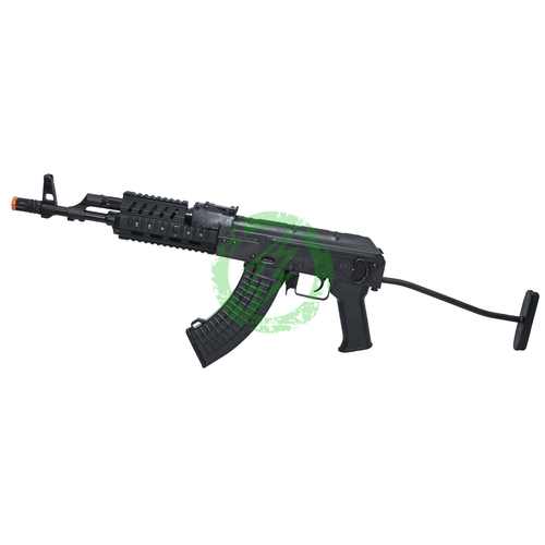 LCT Steel TX-65 AEG Rifle with Rail and Folding Skeleton Stock Left