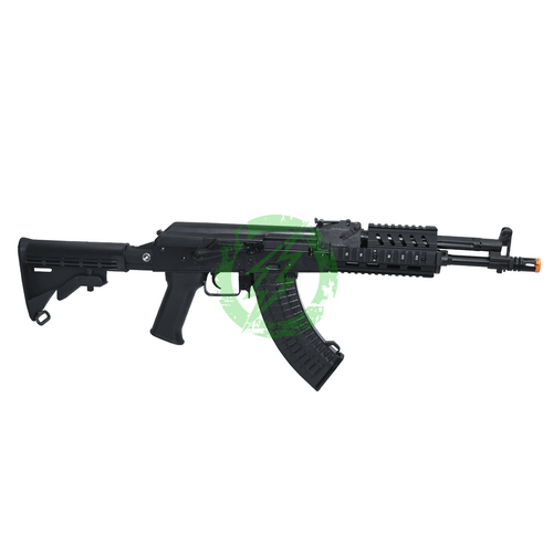 LCT Steel TX-M AEG Rifle with Rail and M4 Stock Right
