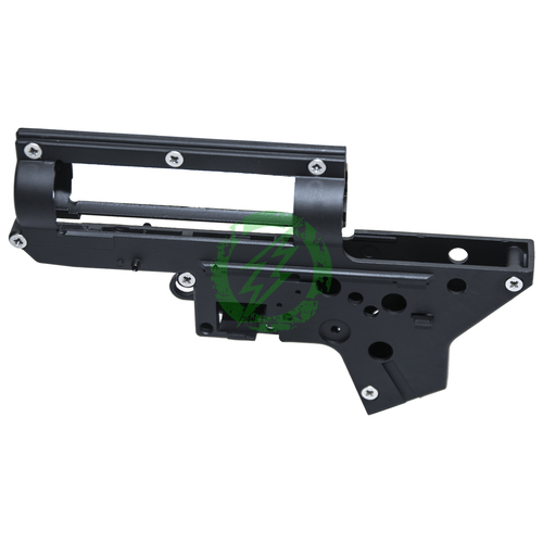 Monk Customs HPA Gear Box V2 with Centering Pins Black