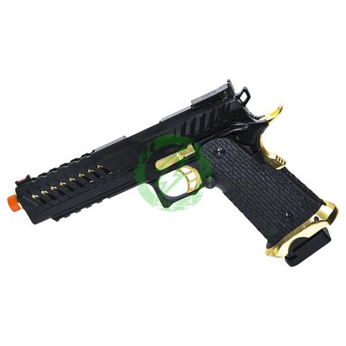 Lancer Tactical KnightShade Hi-Capa Gas Blowback Airsoft Pistol Left