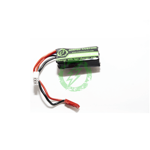 Amped Custom - 7.4v 250mah Mini Lipo Battery with JST Connector