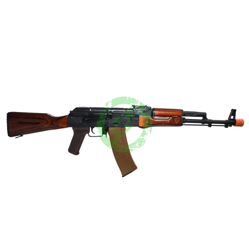 LCT Airsoft AK74M NV Full Metal Airsoft AEG with Real Wood Furniture Right